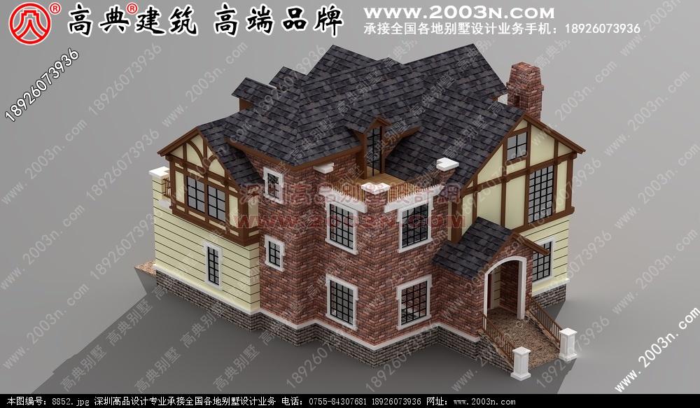 三层半楼房设计图 农村别墅图纸及效果图大全 好图