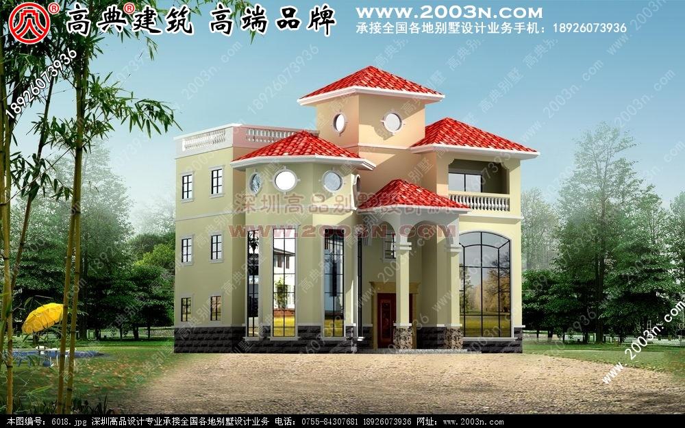 农村自建平房设计图