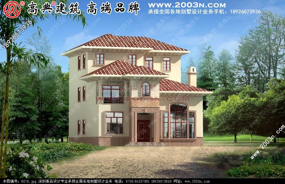 农村房子平面设计图. 图 8076