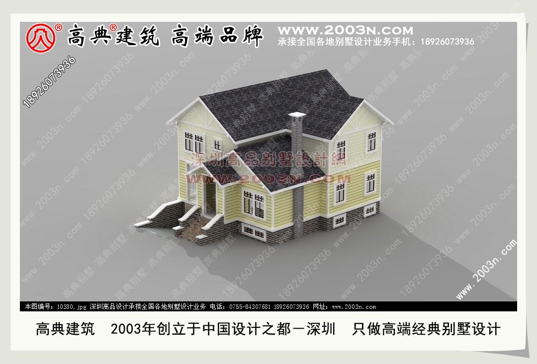 别墅设计图纸及效果图免费下载 乡村小别墅图纸下载