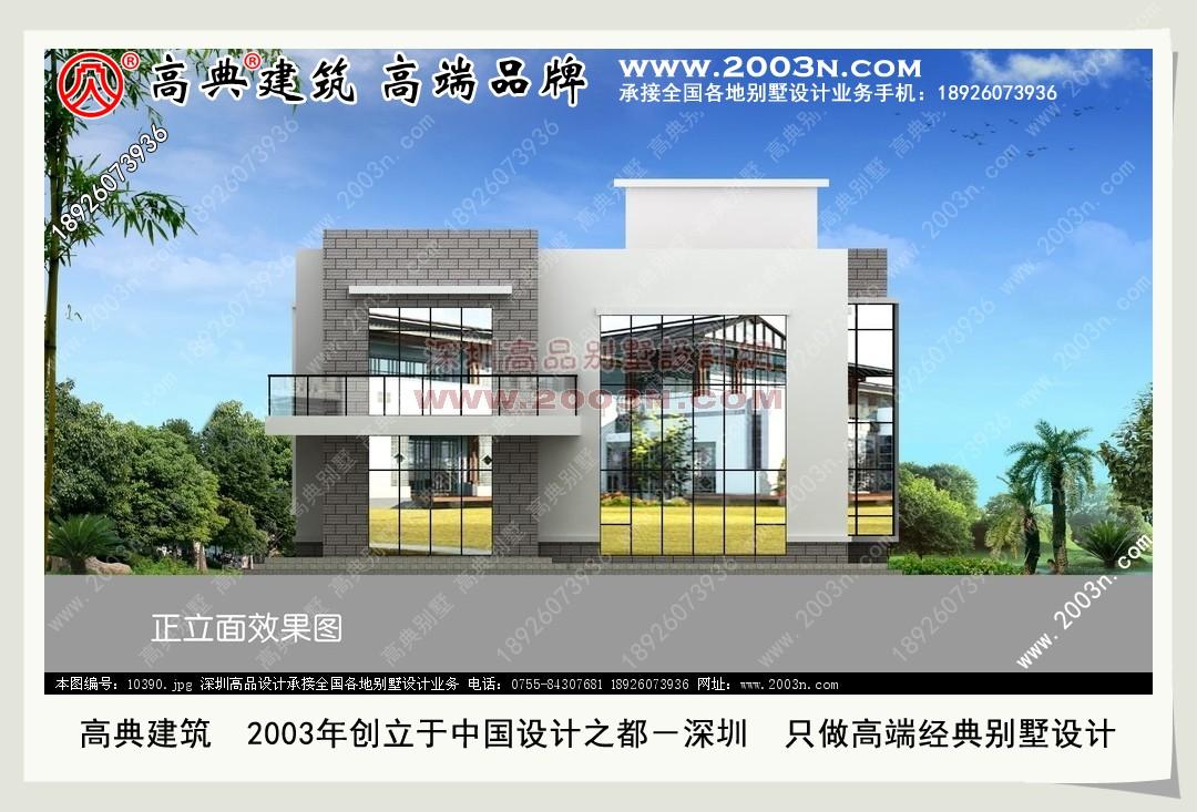 三层别墅外观效果图面积100 120平方的农村2 3层小别墅设计图包括