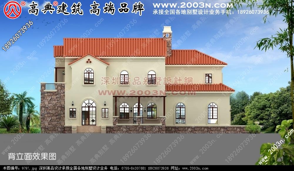 现代别墅外观效果图别墅设计图 别墅图片大全 农村房屋设