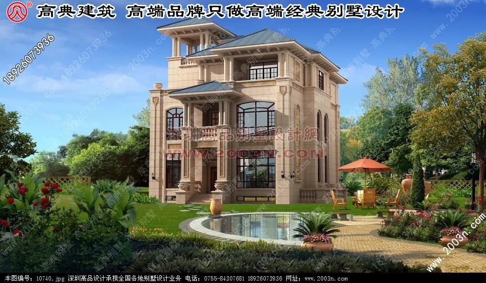 别墅外观效果图欣赏 别墅外观图片大全 深圳高品别墅设计