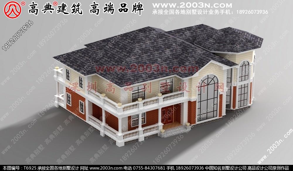 农村小型别墅设计图纸 别墅设计图纸及效果图大全二层别墅